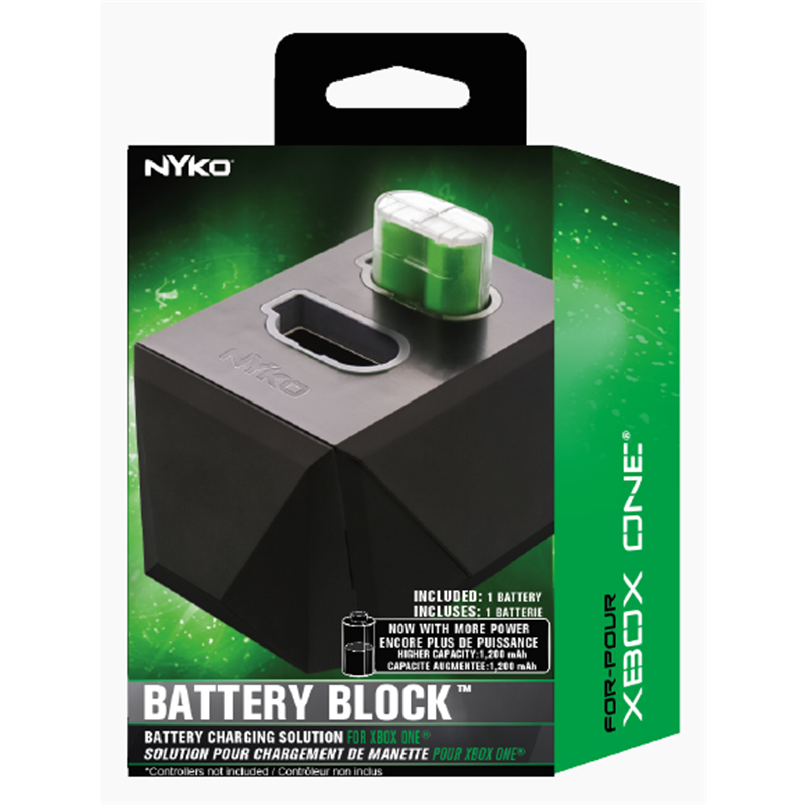 Buy the Nyko - Xbox One Battery Block ( PXONBB ) online