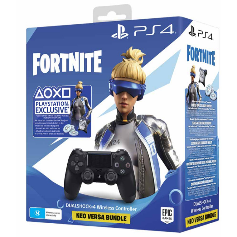 Buy the Sony PS4 PlayStation 4 DualShock 4 Wireless Controller v2  Fortnite    ( PPS4WHCF ) online