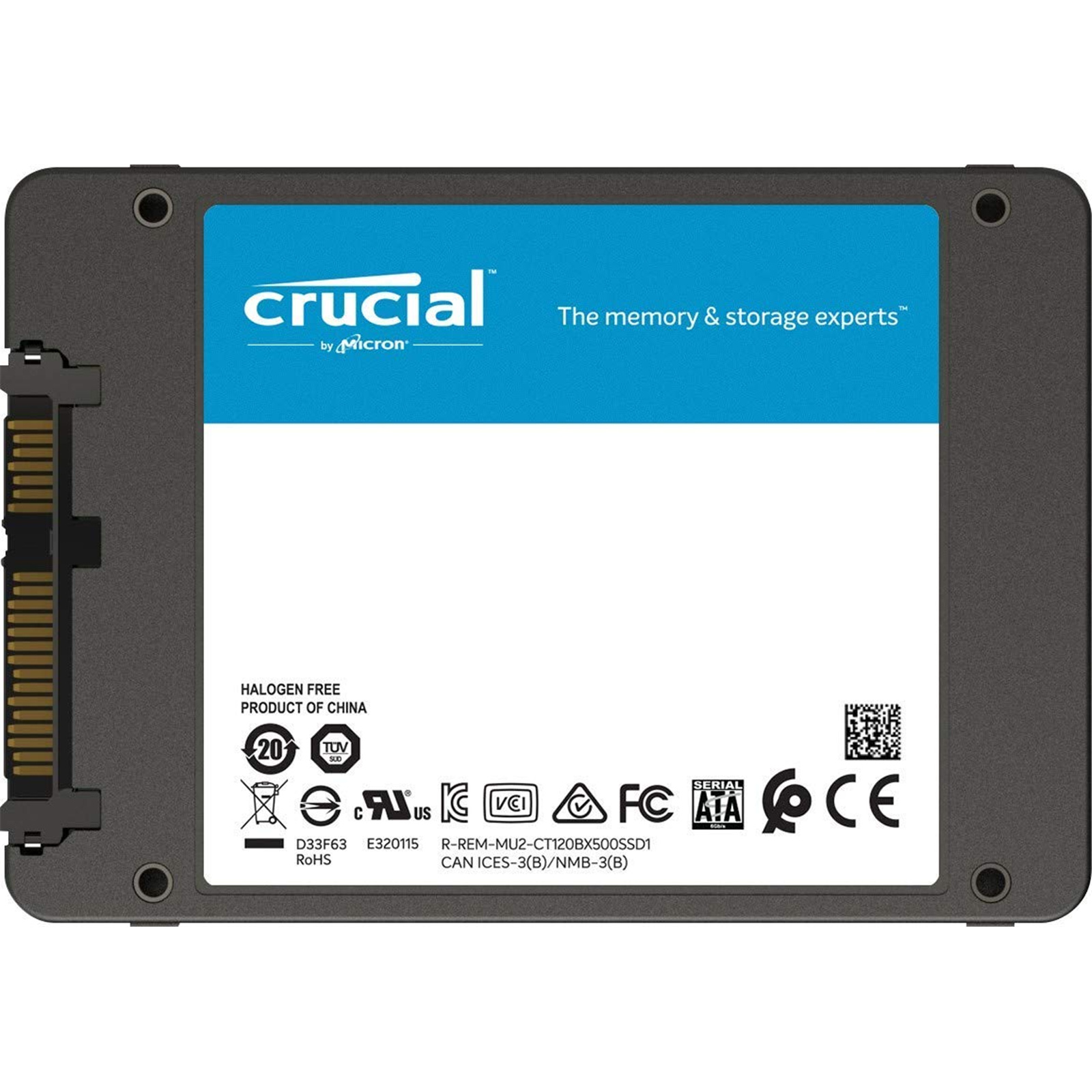Buy The Crucial Bx500 240gb 25 Inch Ssd Sata 60gb S Up To 540mb Wd Green Read 500mb Write 7mm