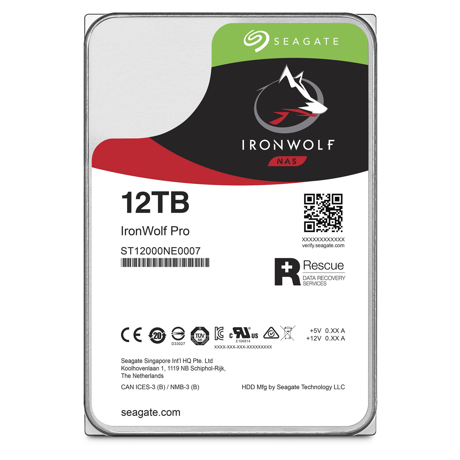 Buy The Seagate Ironwolf Pro 12tb 256mb Cache 7200rpm Sata 60gb S Hdd Wd 4tb Purple Sata3 35 Internal Hard Drive Perfect For 1 16 Bay Nas System 5 Years Warranty
