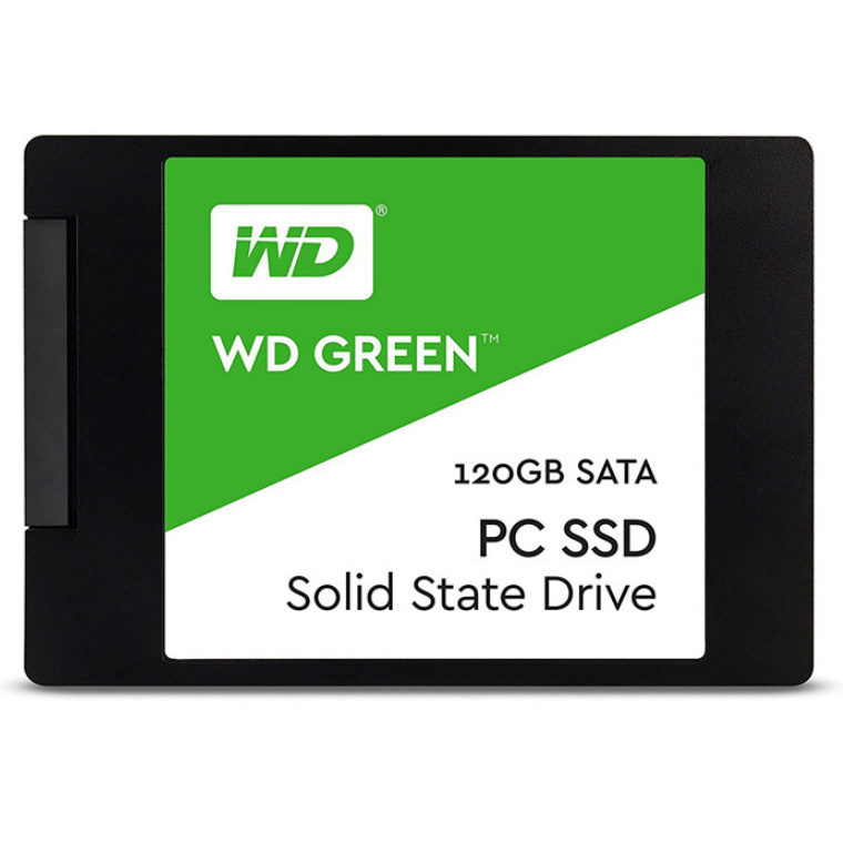 WD Green 120GB 2.5 inch Internal SSD 3D NAND, Enhanced storage for your everyday computing needs . 3 Year Warranty, WDS120G2G0A