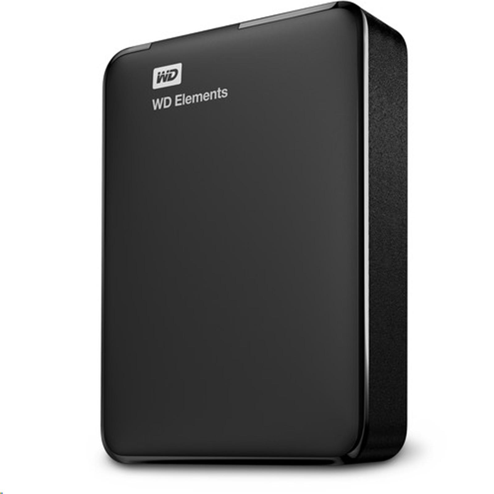WD Elements Portable 2TB 25 USB 30 External HDD