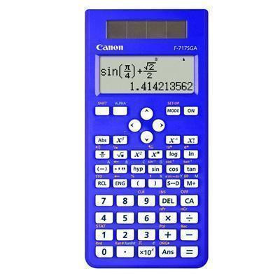 Buy the Canon F717SGA Blue Scientific Calculator 242