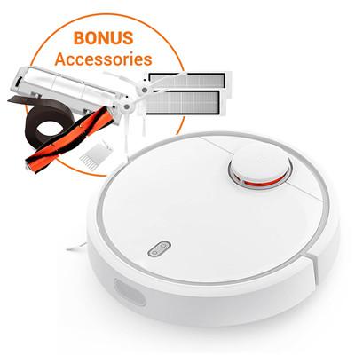 Buy the Xiaomi Mi Home Bundle Smart APP Control Robot Vacuum Cleaner with  1x    ( HOMMIX17061BF ) online