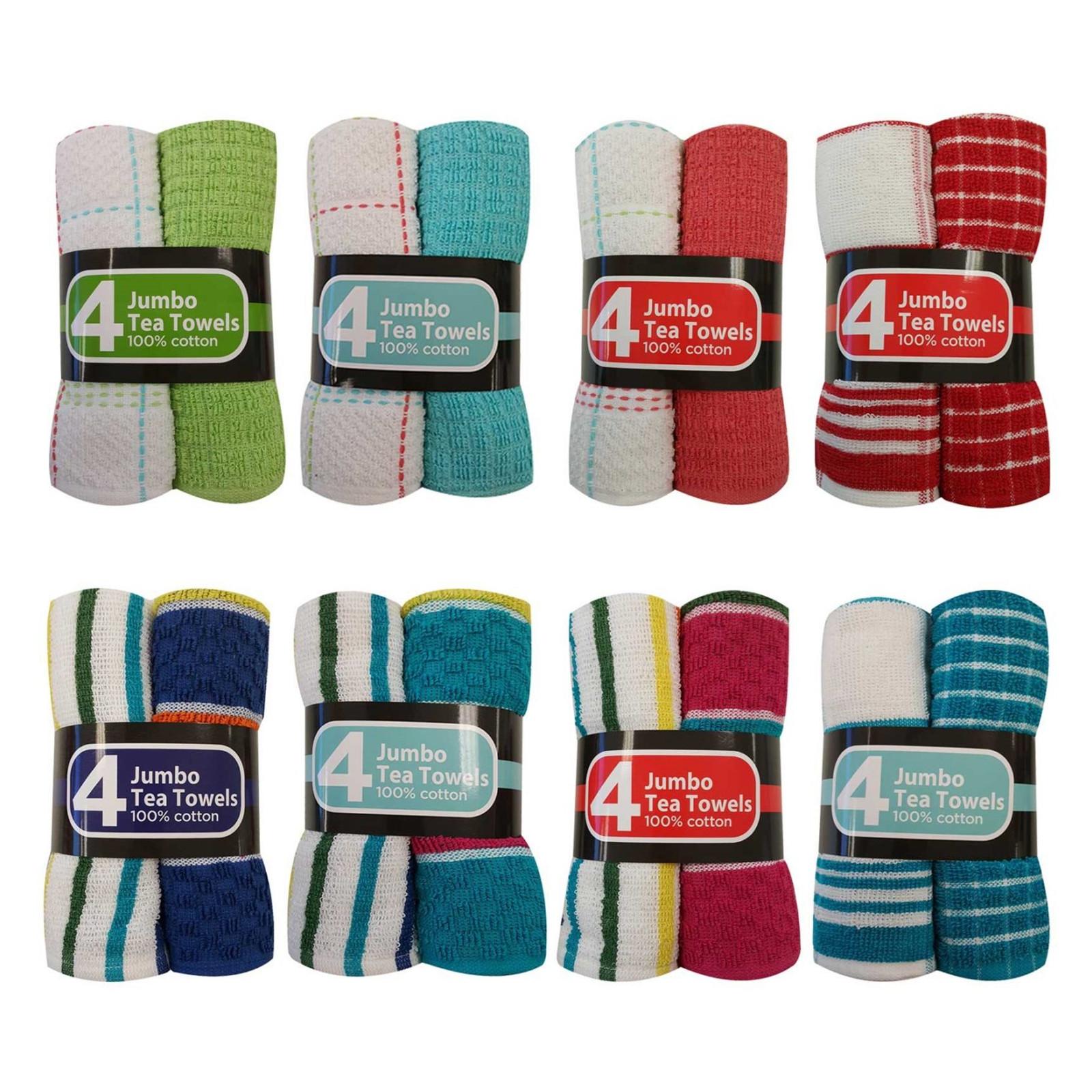 buy the wonderdryer kitchen tea towel jumbo 4 pack box of 6