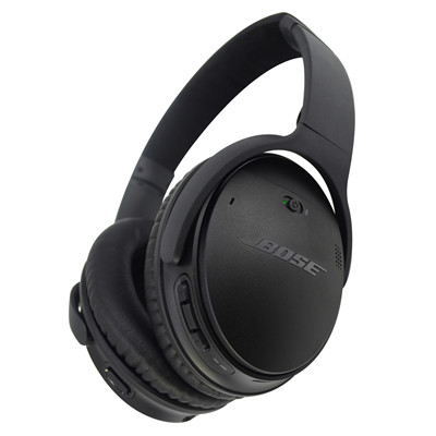 e687a5d4ec3 Bose QuietComfort QC35-II Wireless Noise Cancelling Over-Ear Headphones -  Black