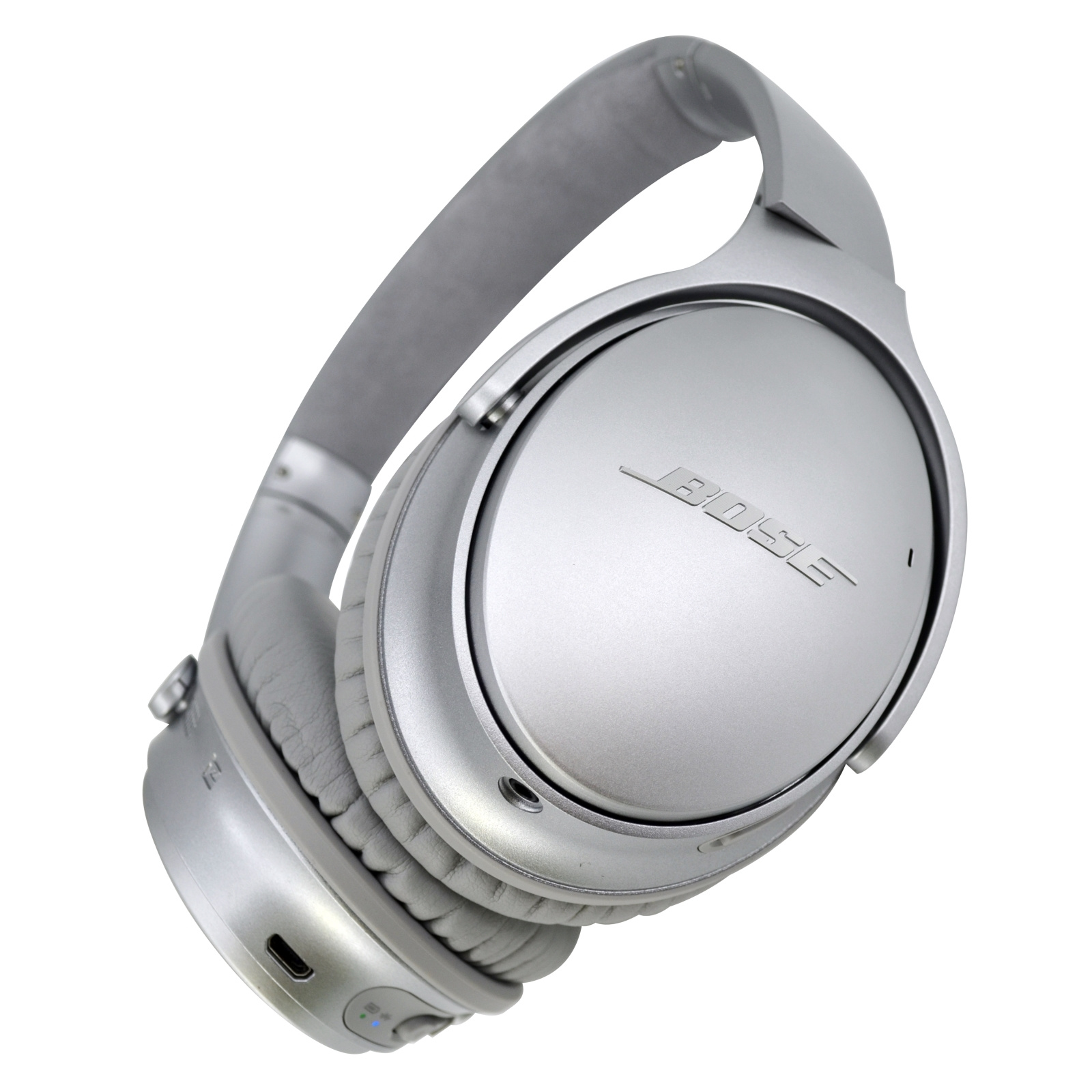 6360e04abec Bose QuietComfort QC35-II Wireless Noise Cancelling Over-Ear Headphones -  Silver - with Google Assistant & Amazon Alexa integration - the most  comfortable ...