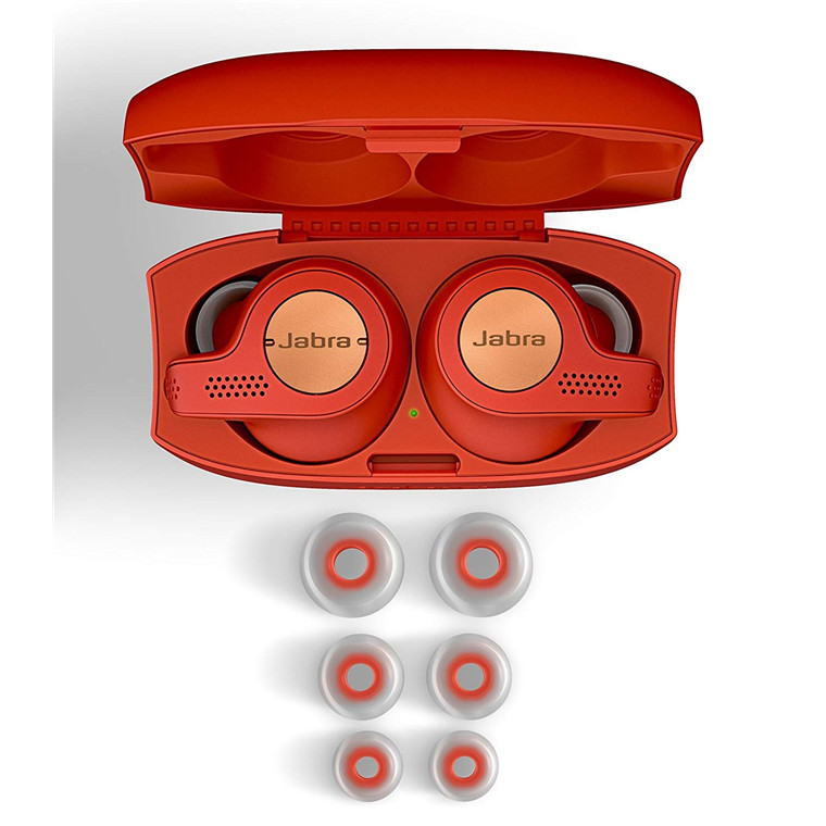 bda56143483 Jabra Elite Active 65t Copper Red 3rd generation true wireless Sports  Earbuds with Charging Case.