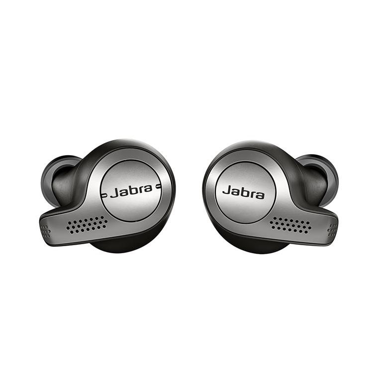 56ab0244d10 Jabra Elite 65t Titanium Black True wireless earphones with mic - in-ear -  Bluetooth 5.0