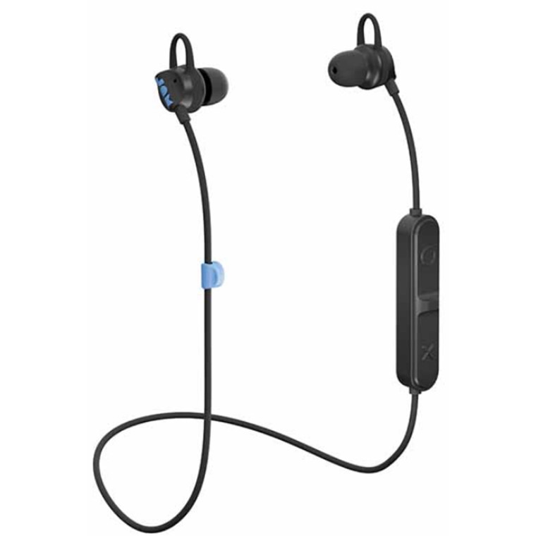 Buy The Jam Audio Live Loose Bt Wireless Bluetooth Earbuds With Mic Controls Hx Ep202 Bk Online Pbtech Co Nz