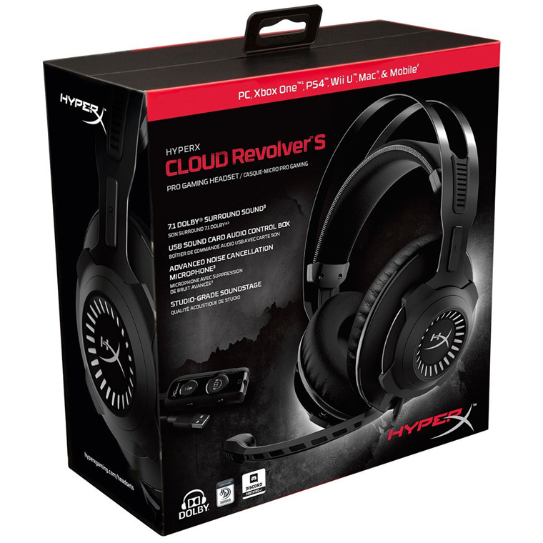 Buy the HyperX Cloud Revolver S USB Gaming Headset Dolby 7 1