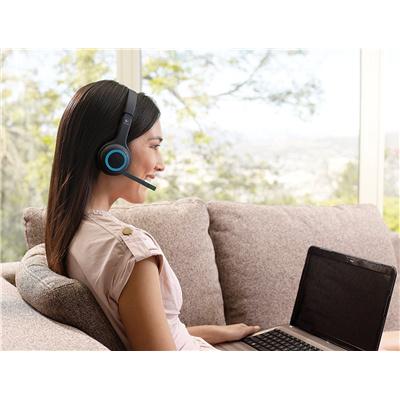 Buy the Logitech H600 Wireless Headset Noise-canceling Mic