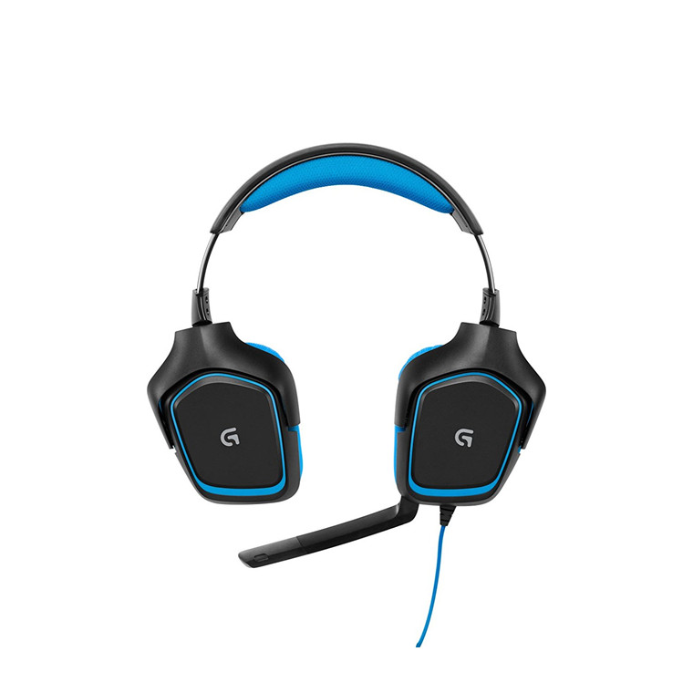 Buy the Logitech G430 7 1 Surround Sound USB Gaming Headset Comfortable,  full    ( 981-000538 ) online
