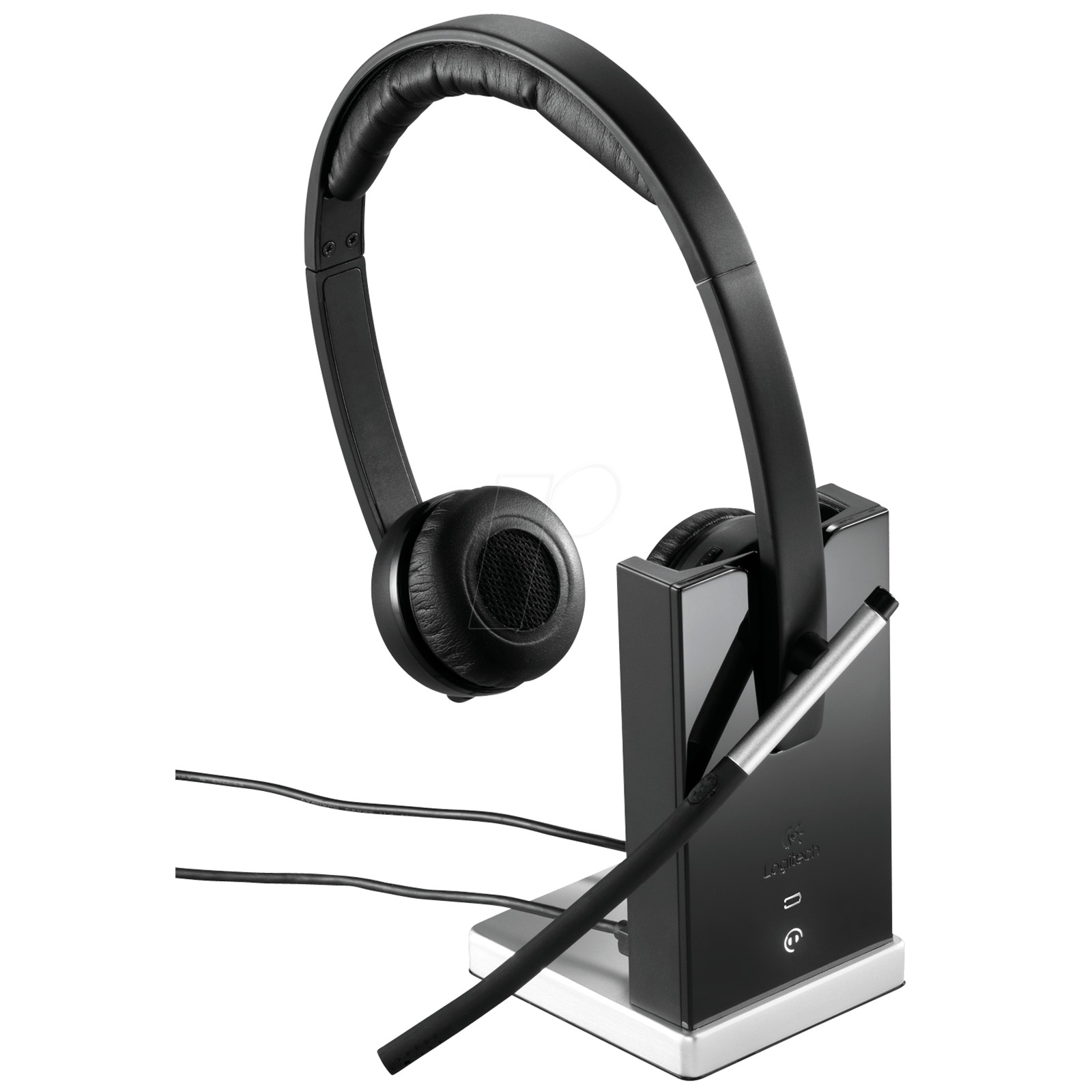 8d6a2347a1e Logitech H820e Business Conference Grade Long Range Stereo Wireless Headset,  Enterprise Quality Audio with Intuitive Call Controls, 100 Meters Wireless  With ...