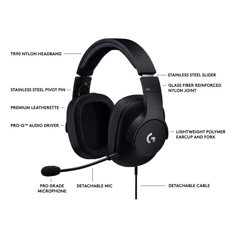 Buy the Logitech G Pro Gaming Headset, Pro Grade Mic