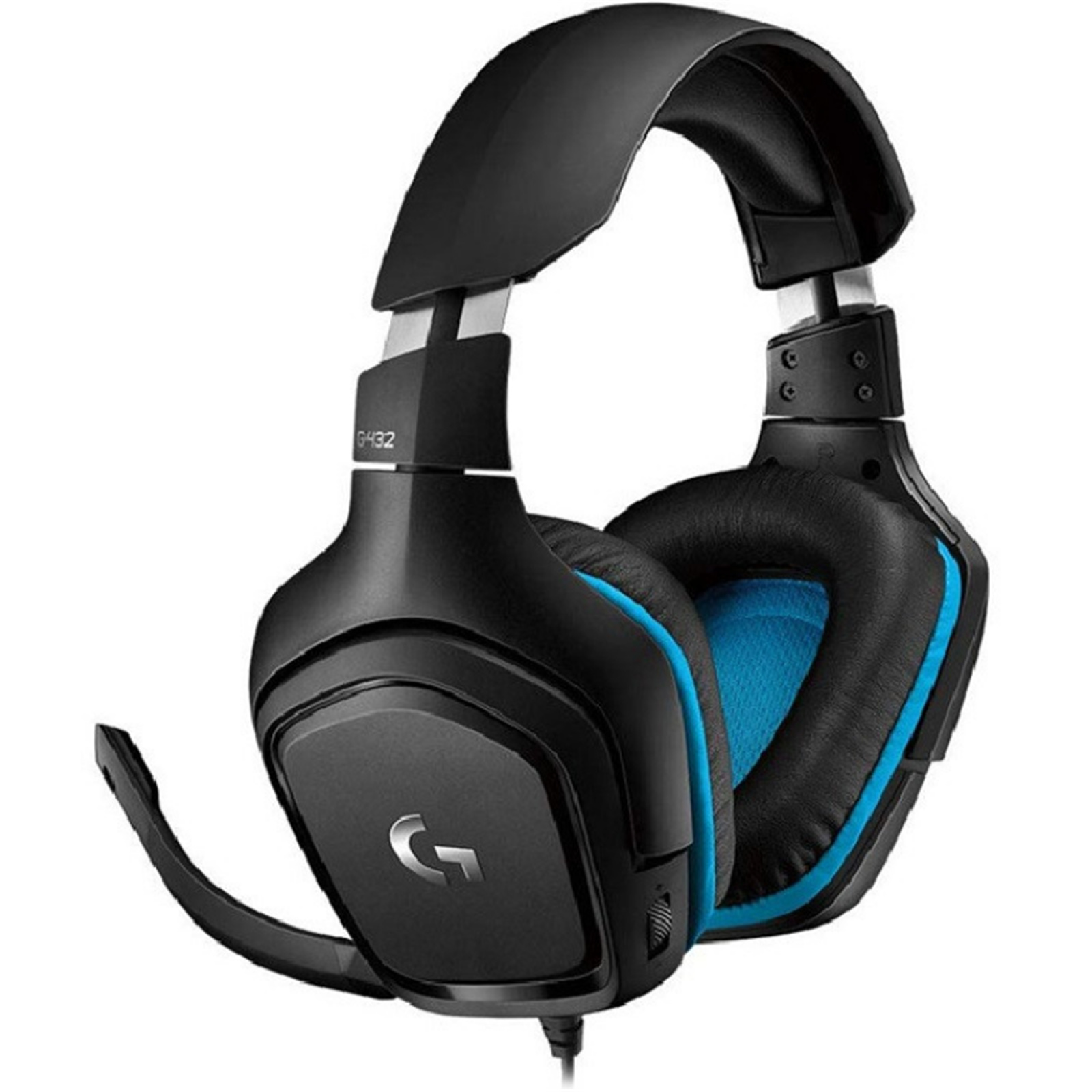 Buy the Logitech G432 Wired 7 1 Surround Sound Gaming Headset ( 981
