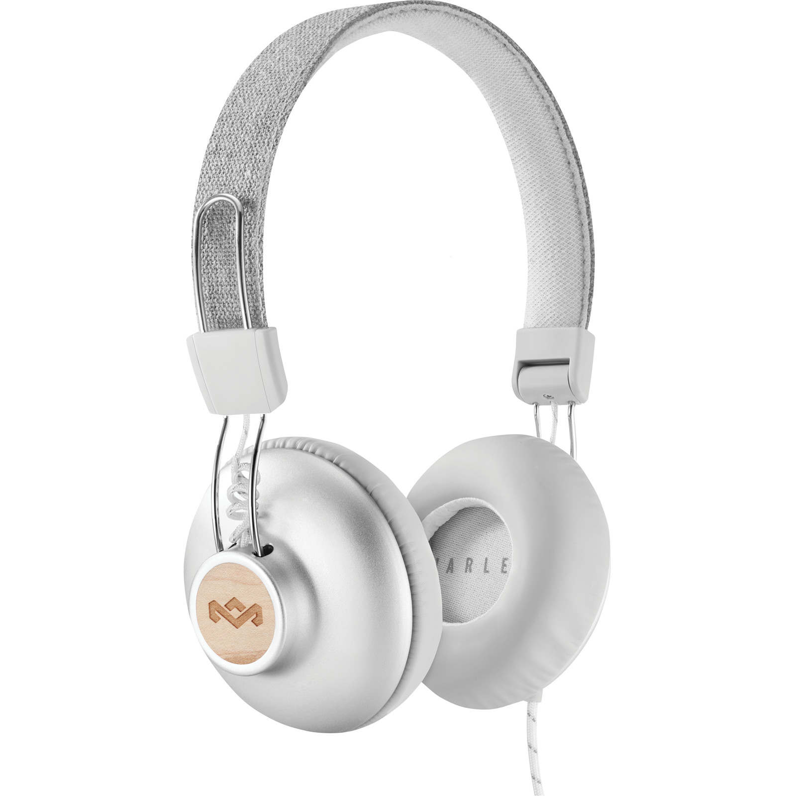 7a733e9cab1 Buy the MARLEY Positive Vibration 2.0 On-Ear Headphones - Silver ...