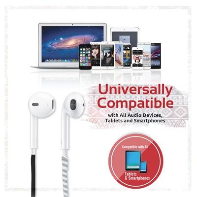 Buy the PROMATE Ergonomic In-Ear Stereo Wired Earphones
