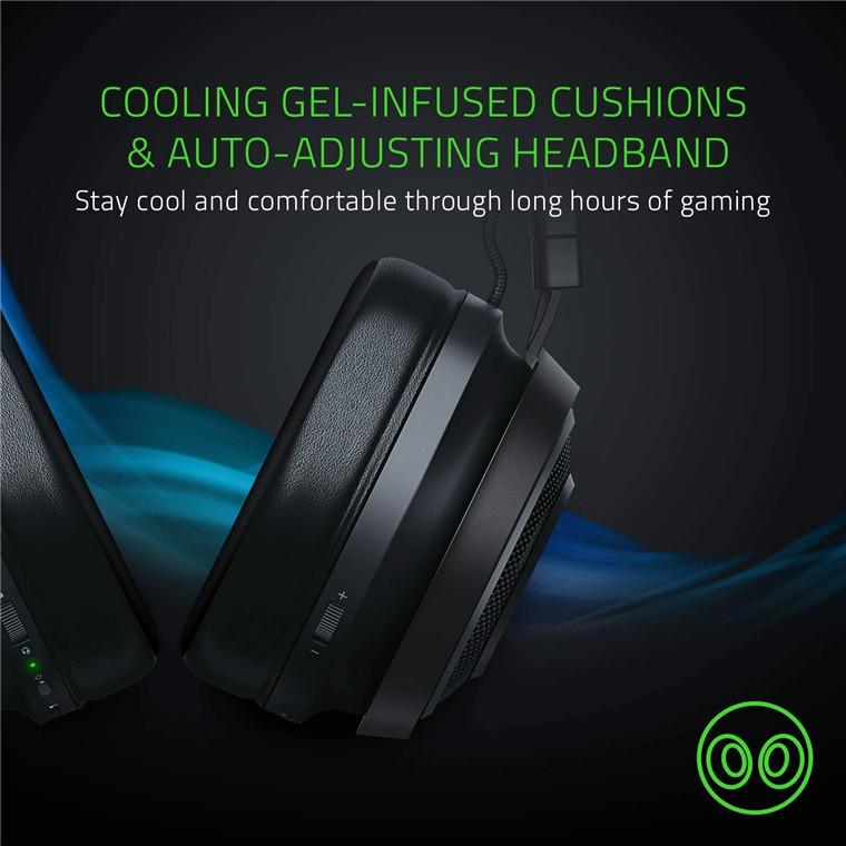 Buy the Razer Nari Ultimate THX Spatial Audio Wireless Gaming Headset,    (  RZ04-02670100-R3M1 ) online