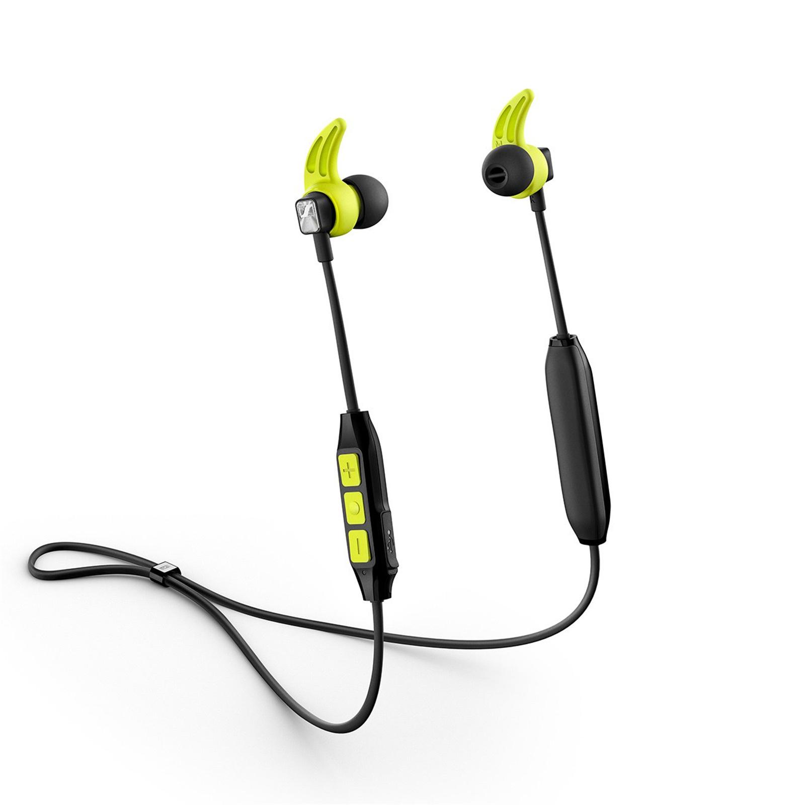aa7cd2532bc Sennheiser CX SPORT Wireless Earphones - Black/Yellow - Lightweight sweat &  splash-resistant design, 6 hour battery life, AptX & AptX Low Latency, ...