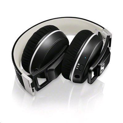 eda9ca4f86c Sennheiser Urbanite XL Wireless Over-Ear Headphones - Black - Premium  design, AptX audio, & up to 25.