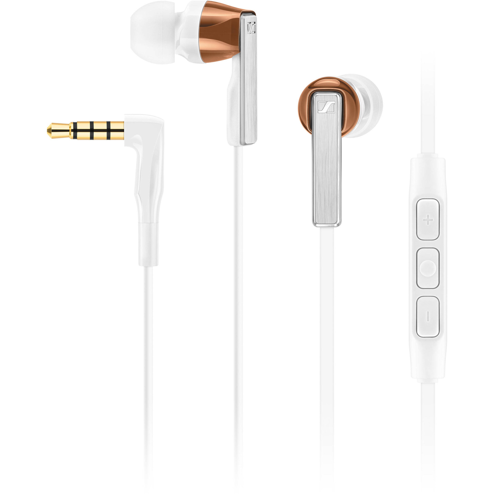 Buy The Sennheiser Cx 500i In Ear Headphones White With Line Earphone Sport Remote For Apple Ios Devices