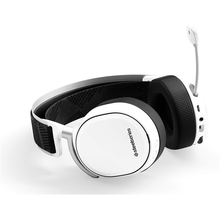 Buy The Steelseries Arctis Pro Wireless Gaming Headset White Lossless High 61474 Online Pbtech Co Nz