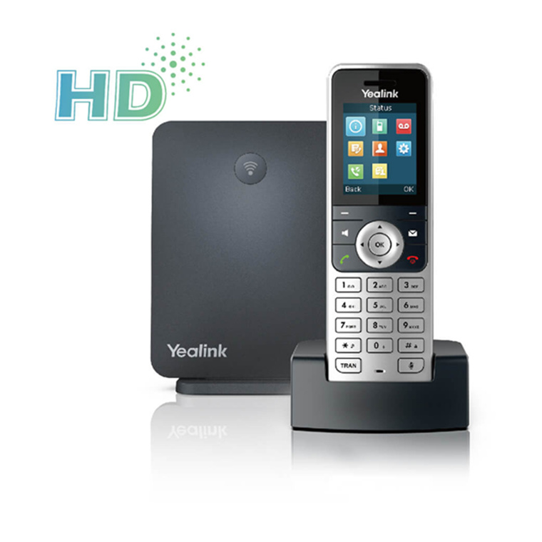 Buy the Yealink W53P Wireless DECT IP Phone HANDSET + BASE ( W53P