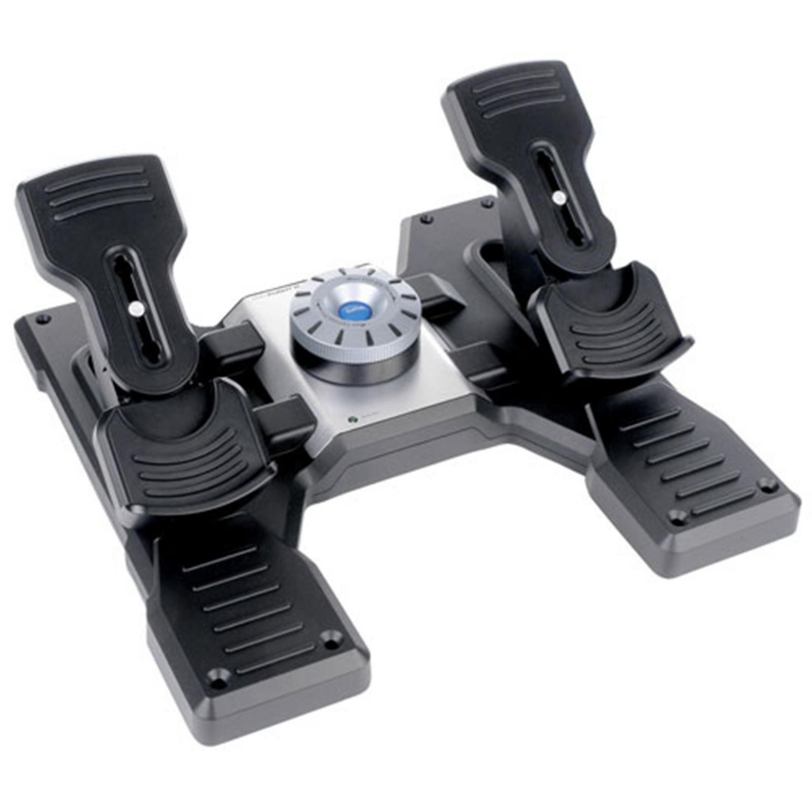 15725a748ec Buy the Logitech Pro Flight Gaming Rudder Pedals ( 945-000024 ...