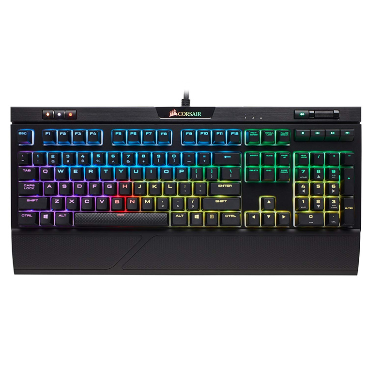 94444a1d22b Buy the Corsair STRAFE RGB MK.2 MECHANICAL GAMING KEYBOARD - CHERRY ...