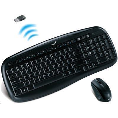 7c36fbb9186 Genius KB-8000x Wireless Desktop Kit Wireless Multimedia Keyboard Mouse  Combo