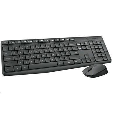 fc3654663de Logitech MK235 Wireless Desktop Keyboard and Mouse Combo Full-Size.  Durable. Simple.