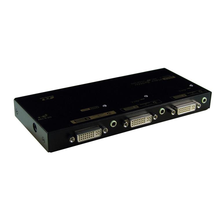 Buy the Rextron VSD-102 1 to 2 Port DVI /HDMI Splitter ( VSD