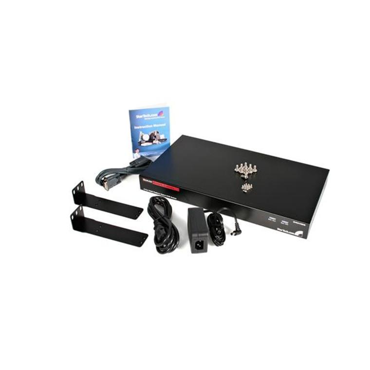 Buy the StarTech SV841HDIE 8 Port Rackmount USB PS/2 Digital