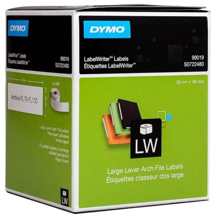 Buy the Dymo LW Large Folder Labels 190x59mm 110pcs/roll