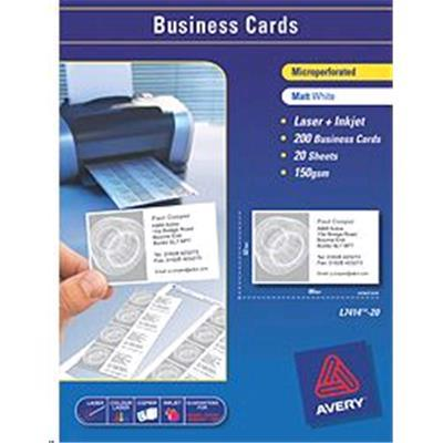 Avery Template Business Cards