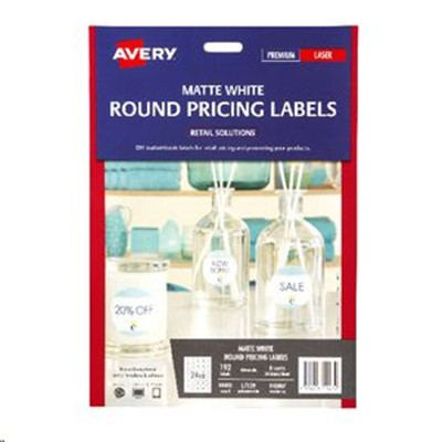 Buy the avery l7129 label round 40mm 24up 8 sheets matte white avery l7129 label round 40mm 24up 8 sheets matte white reheart Image collections