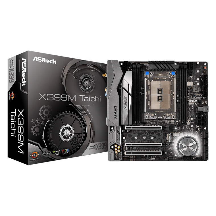 Buy the ASRock X399M Taichi mATX Form Factor For AMD Ryzen