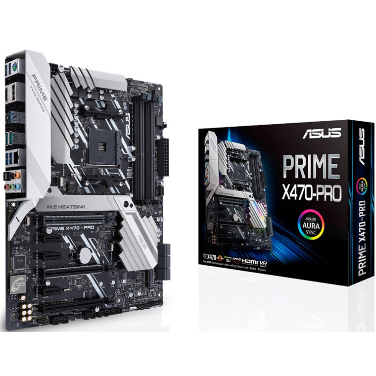 Buy the ASUS PRIME X470-PRO ATX For AMD Ryzen 2nd/3rd Gen, Socket