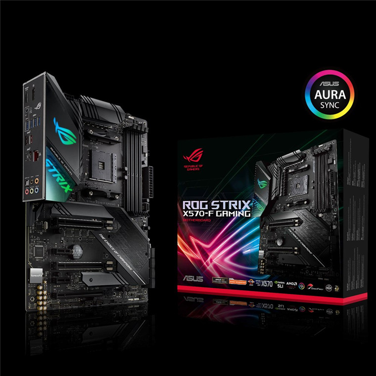 Buy the ASUS ROG STRIX X570-F Gaming ATX For AMD Ryzen 2nd