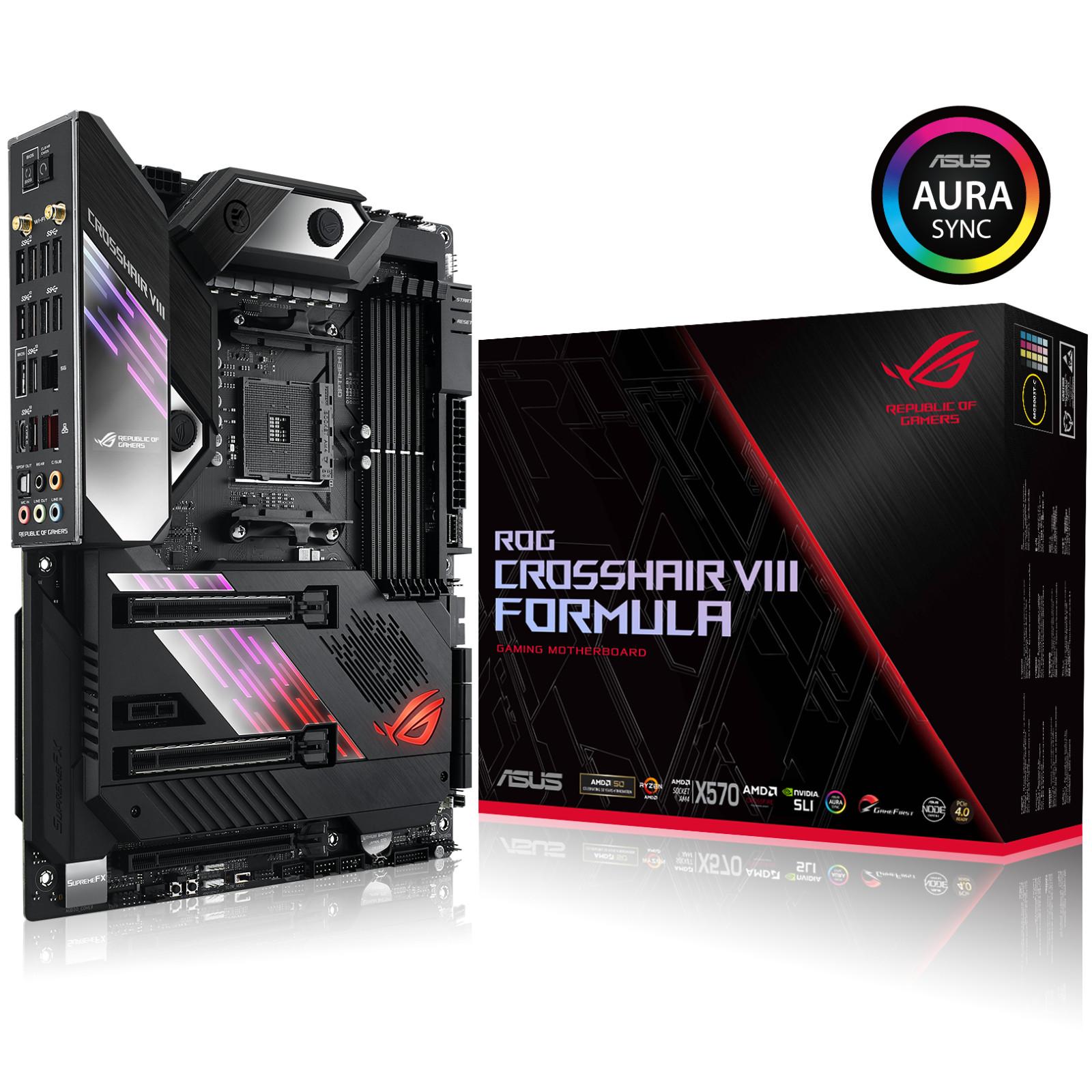 Buy the ASUS ROG CROSSHAIR VIII FORMULA X570 ATX For AMD