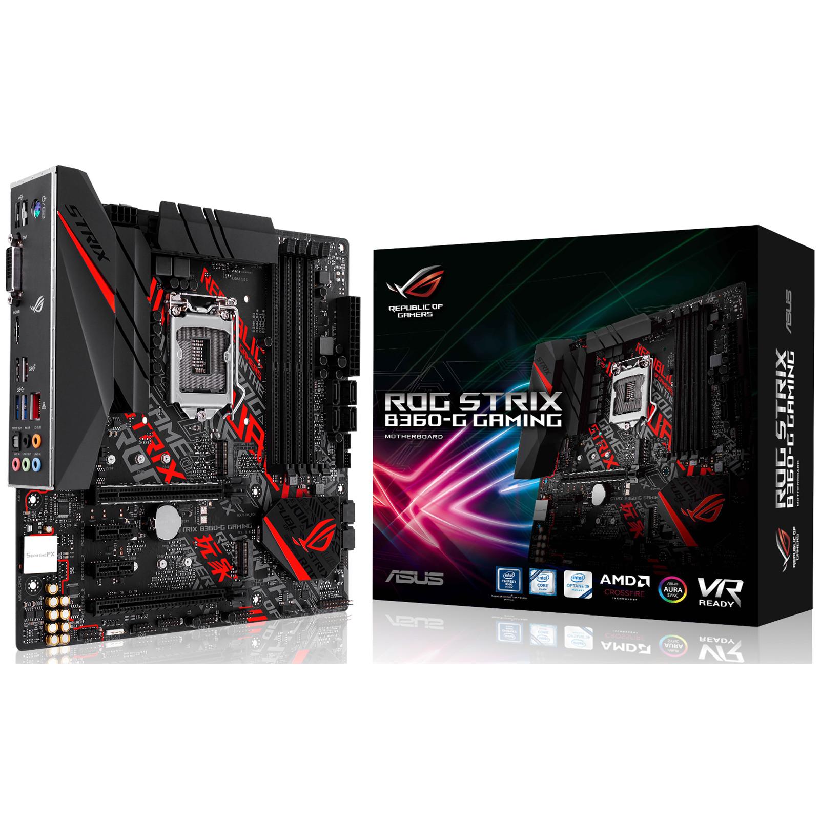 Buy The Asus Rog Strix B360 G Gaming Matx Form For Intel Coffee Multi Core X8 4x Super Fans Upto 17 Deepcool Notebook Cooler Lake Lga1151 Chipset Ddr4 2666 2x M2 Usb 31 Gen2 Hdmi Dvi