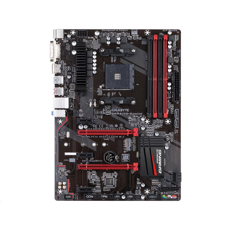 Gigabyte GA AB350 Gaming ATX For AMD Ryzen Socket