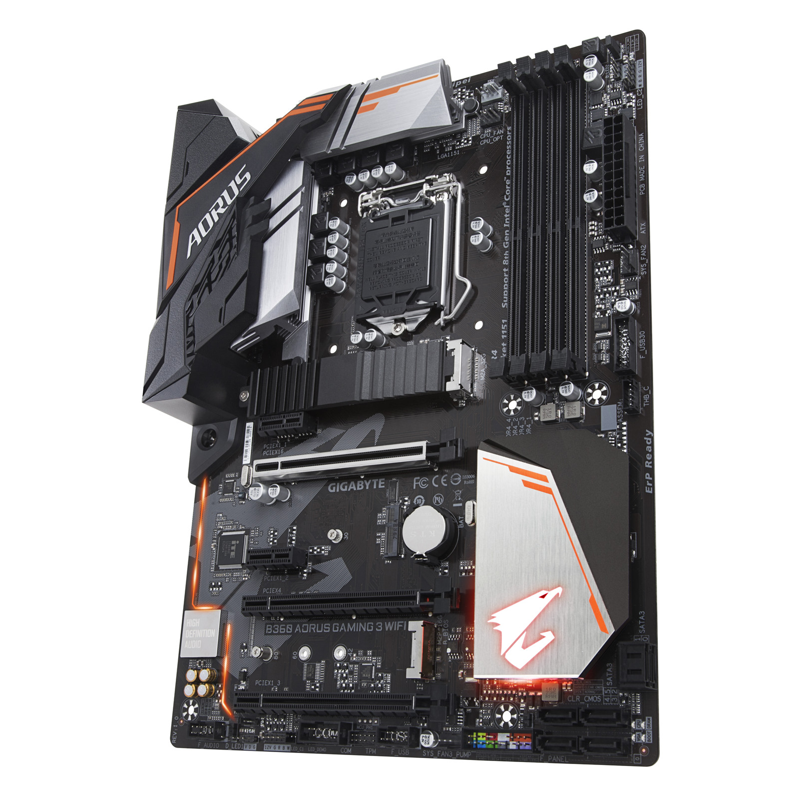 Buy the Gigabyte B360 AORUS GAMING 3 WIFI ATX For Intel 8th