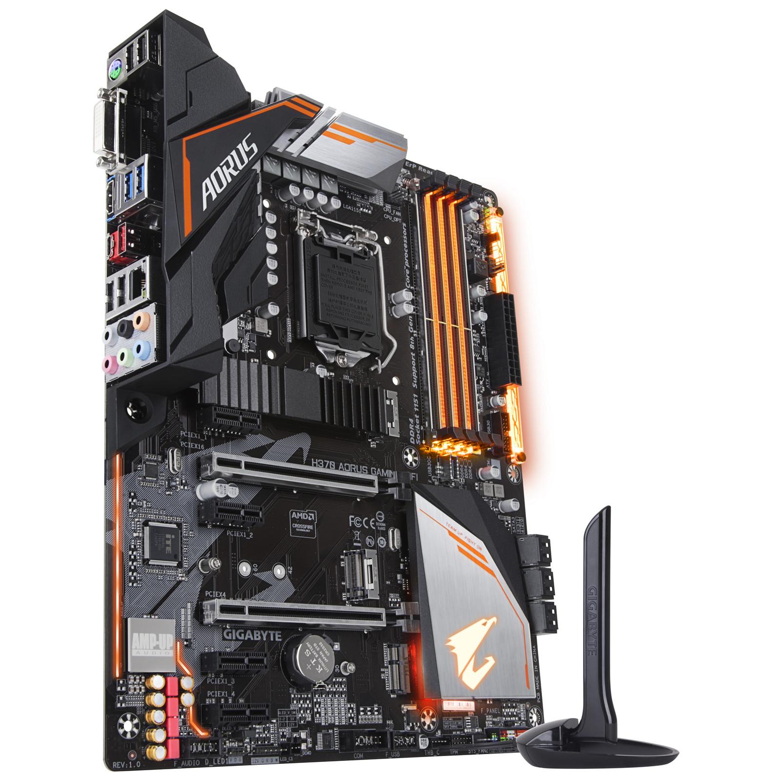 Buy the Gigabyte H370 AORUS GAMING 3 WIFI ATX For Intel 8th