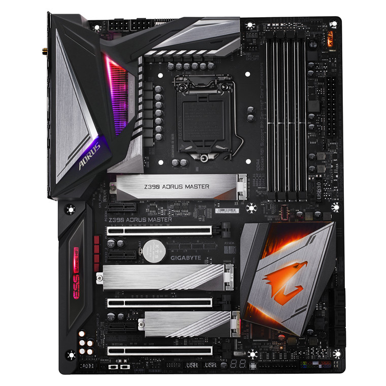 Buy the Gigabyte Z390 AORUS MASTER ATX Form Factor, For Intel 8th
