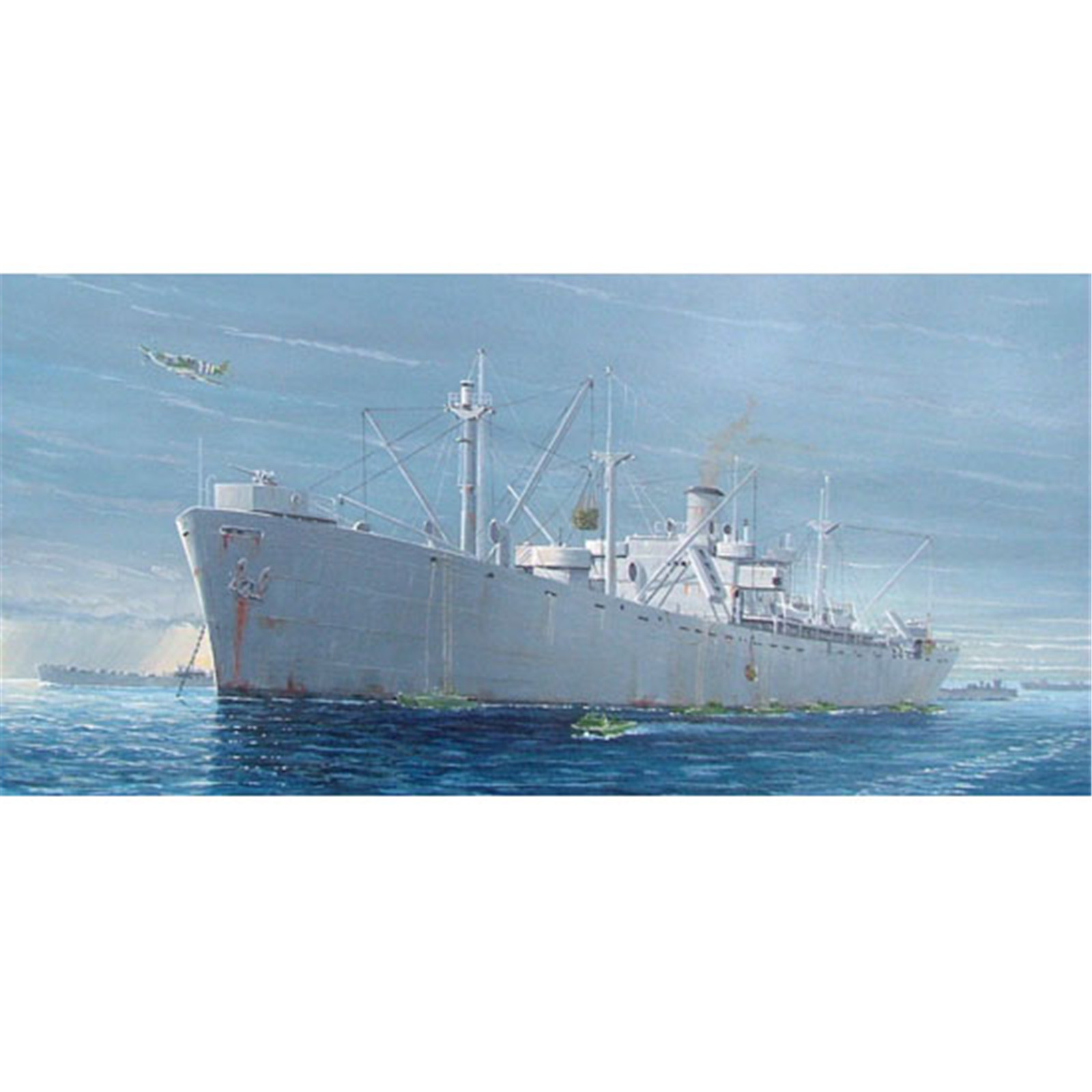 Buy the Trumpeter - 1/350 - U S  Libery Ship - S S  Jeremiah