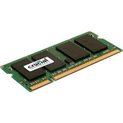 Crucial 2GB LAPTOP DDR2 800Mhz SODIMM 200pin Non ECC PC2 6400 Laptop Notebook RAM