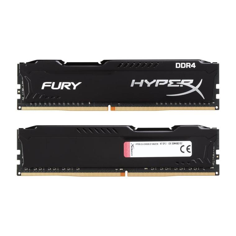 Buy the Kingston HyperX Fury 16GB RAM (2 x 8GB) DDR4-2666MHz CL16 - Black      ( HX426C16FB2K2/16 ) online