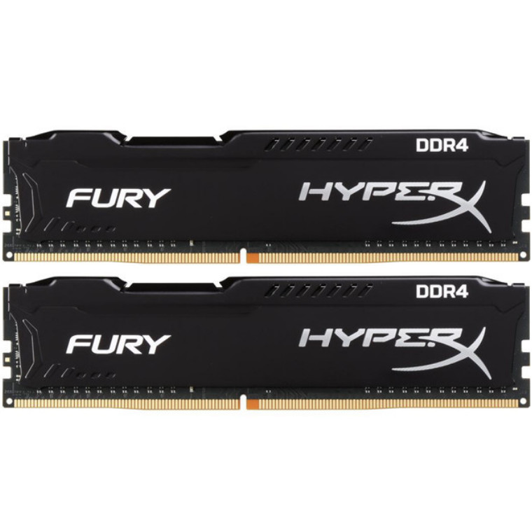Buy the HyperX Fury 16GB RAM (2 x 8GB) DDR4-2666MHz CL16